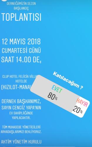 Club Hotel Felicia 12.05.2018  Toplantı